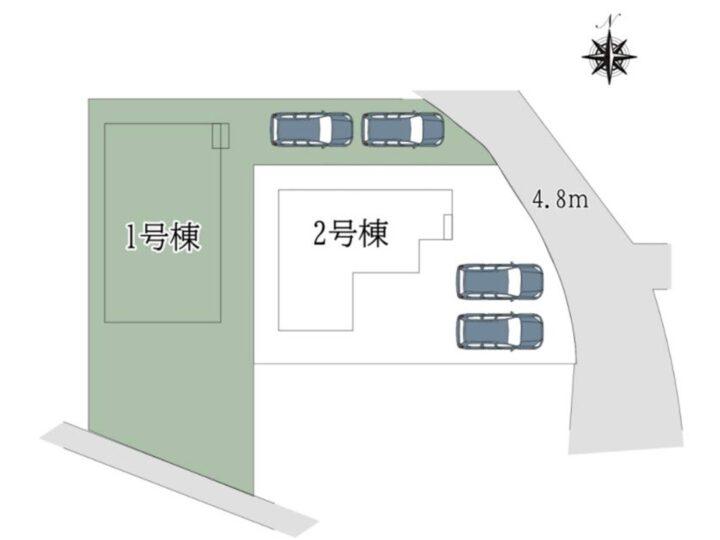 奈良市 西大寺竜王町 1丁目2号棟 :新築戸建