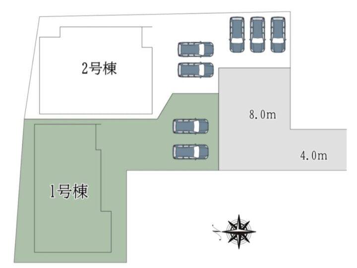 奈良市神殿町1期-1号棟:新築戸建