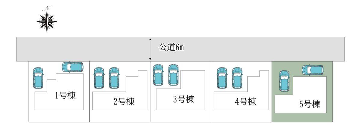 田原本町阪手7期5号棟:新築一戸建