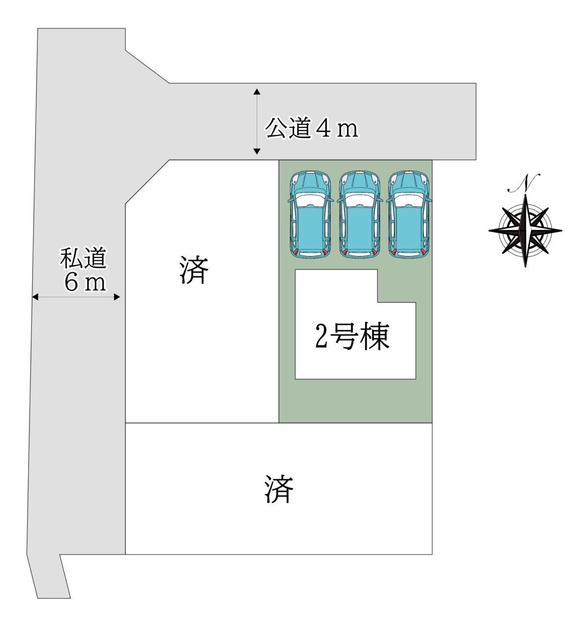 桜井市芝3期2号棟:新築戸建