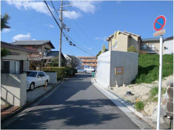 奈良市 百楽園 1丁目 :土地