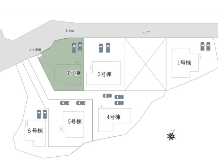 奈良市 中山町 4期-3号棟 :新築戸建