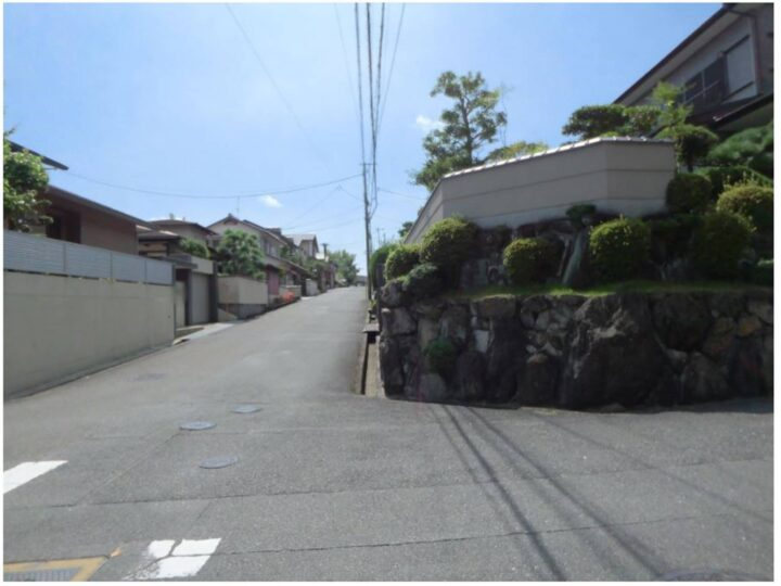 奈良市 南登美ケ丘 :土地