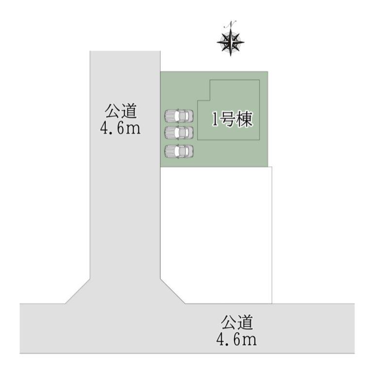 奈良市 若葉台 4丁目1号棟:新築戸建