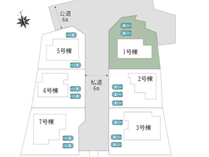 奈良市 中山町 13期1号棟:新築戸建
