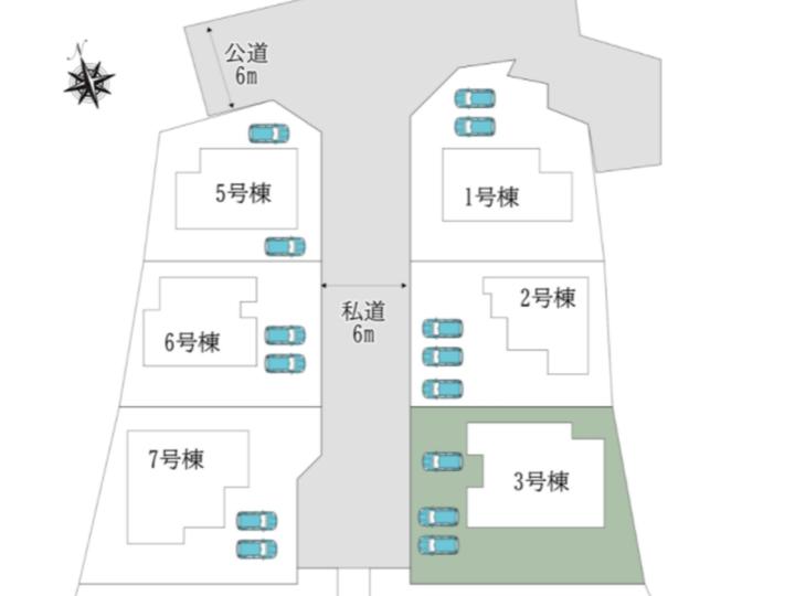 奈良市 中山町13期3号棟:新築戸建