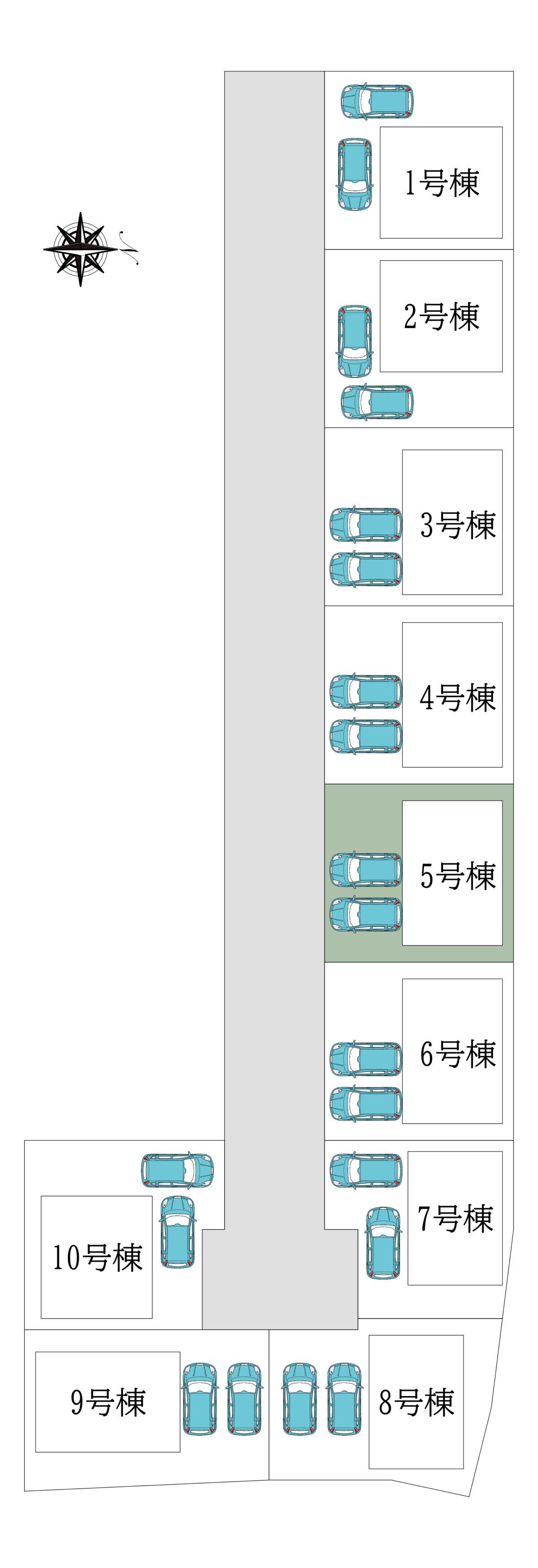 田原本町阪手第3-5号棟:新築一戸建