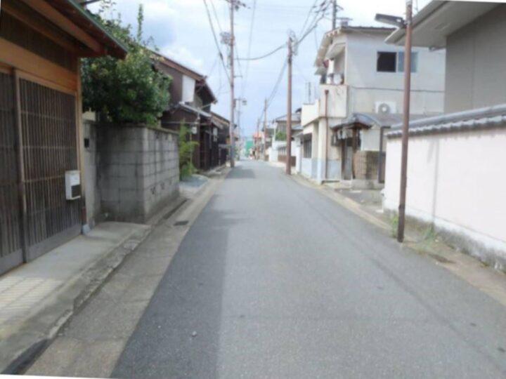 奈良市川之上突抜町:土地