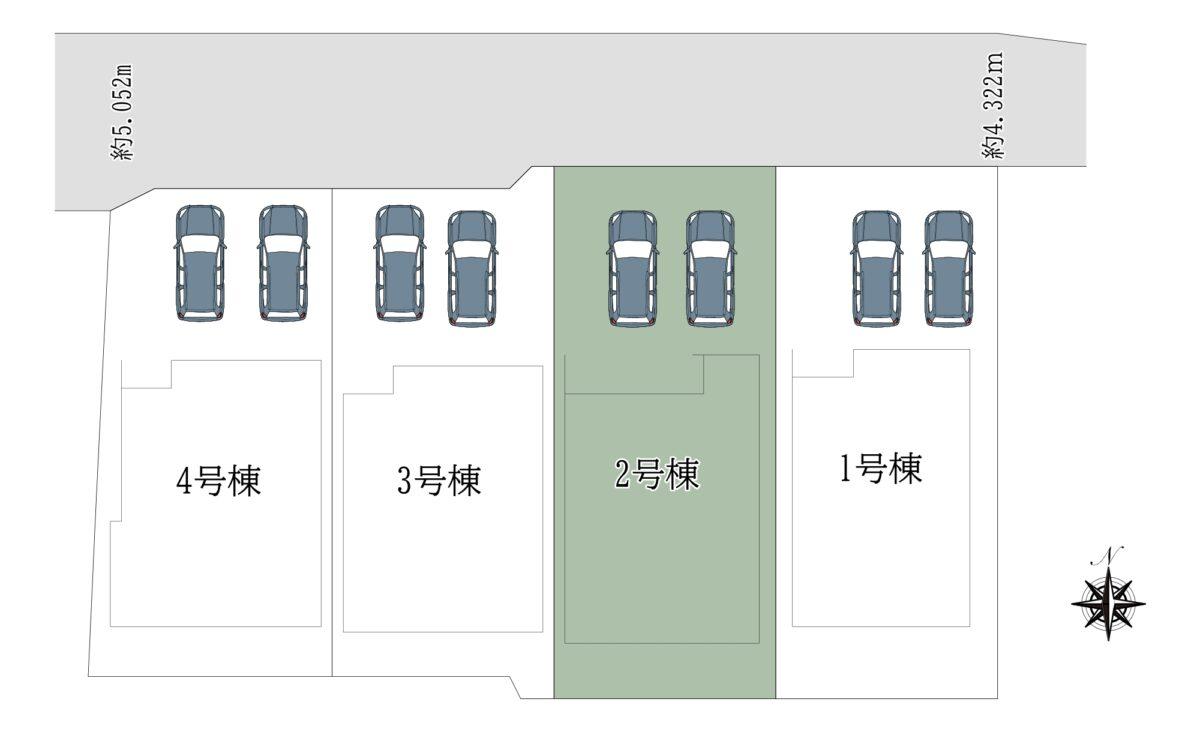 奈良市三条大路3丁目2号地:新築