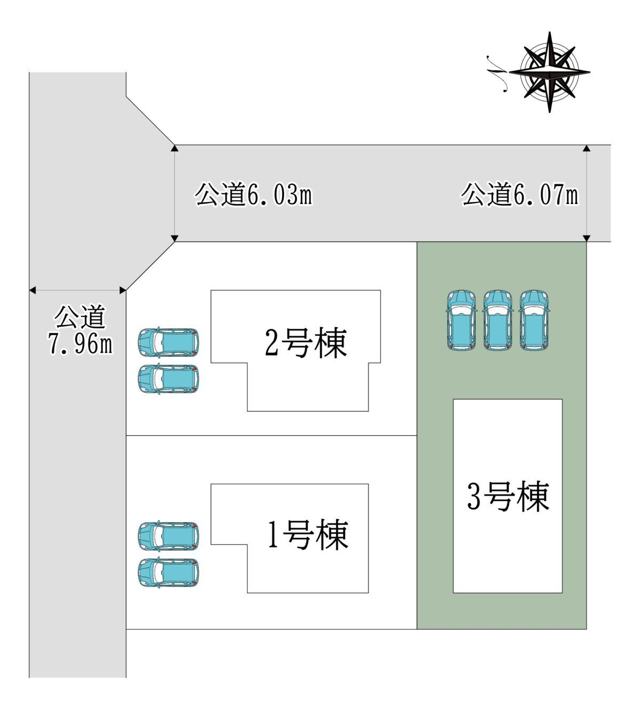奈良市神功2丁目3号棟:新築戸建